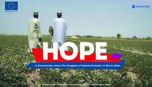 Documentary film, 'HOPE' set to premiere on Monday, October 25.