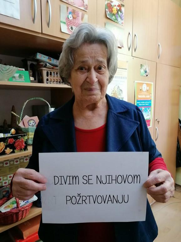 Poruke stanara Gerontološkog centra Subotica medicinskim sestrama