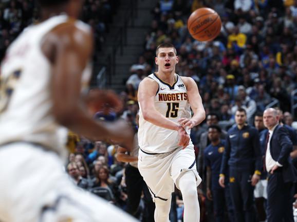 Nikola Jokić briljira ove sezone u NBA ligi