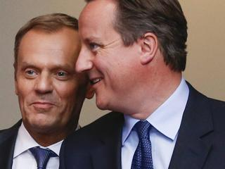 David Cameron Donald Tusk