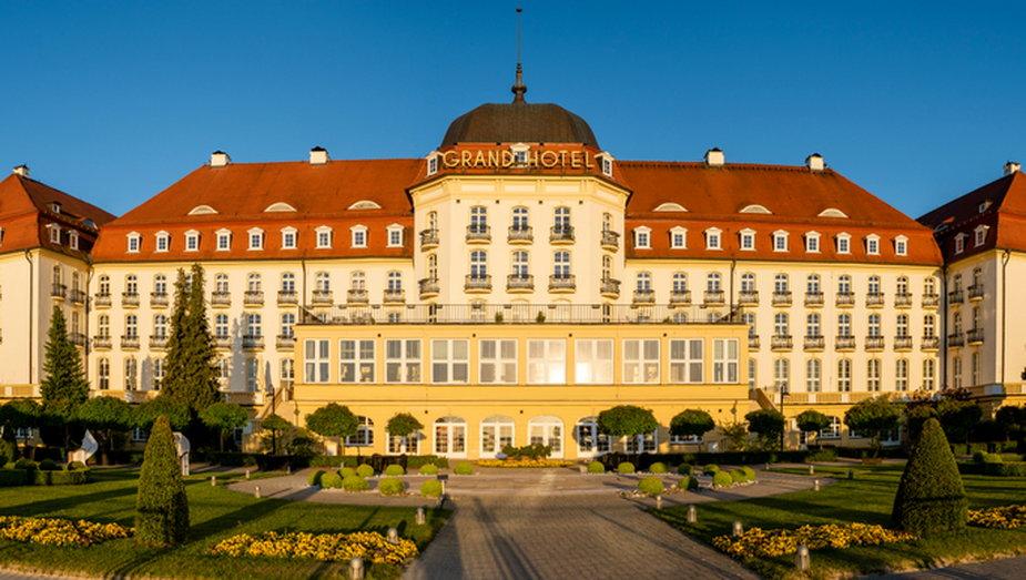 Hotel Grand w Sopocie