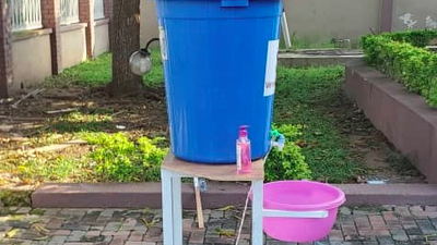 The new improved Veronica Bucket will help curb spread of COVID-19