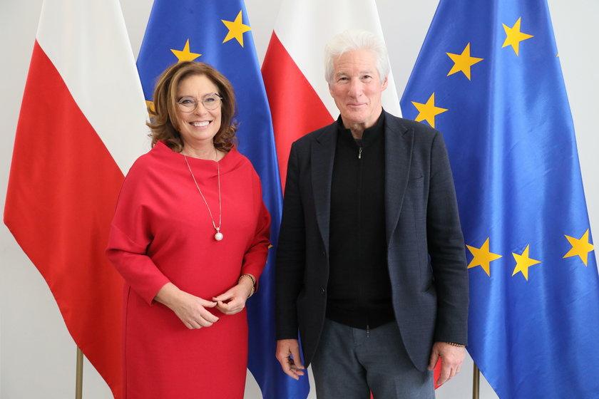 Richard Gere w Polsce