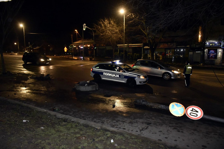 Udes saobraćajna nesreća Konjarnik Beograd