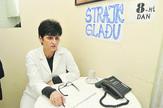 Zorka Savic Strajk gladju osmi dan geronto domacica dnevni boravak za penzionere foto Robert Getel
