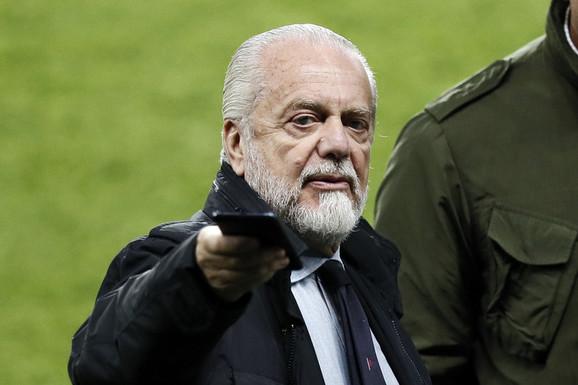 Aurelio de Laurentis, predsednik Napolija