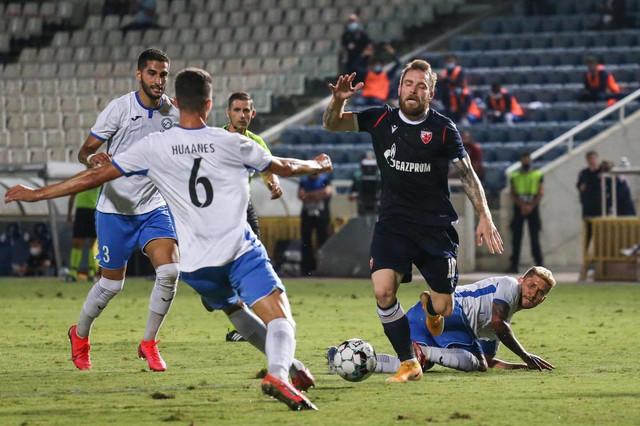 Aleksandar Katai u ključnom prodoru na meču Ararat - FK Crvena zvezda