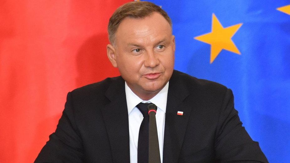 Andrzej Duda mówił o szczepieniach podczas posiedzenia Rady Gabinetowej