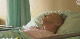 Szok! Pod opieką lekarzy dostała odleżyn do kości