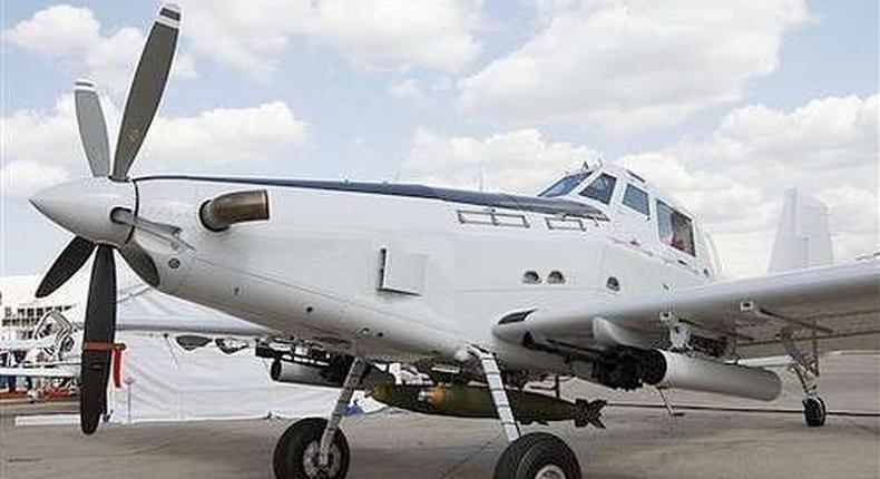 An Air Tractor aircraft. The US Government last month approved the sale of 12 Air Tractor aircrafts with weapons and related support including two AT-504 trainer aircraft to the Kenyan Government.