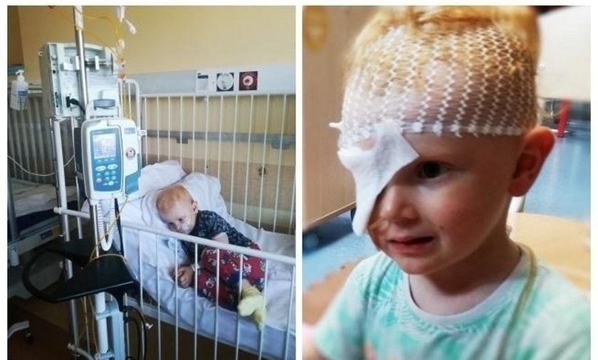 Tomek Kołodziejczyk potrzebuje pomocy. 3-latek z guzem mózgu