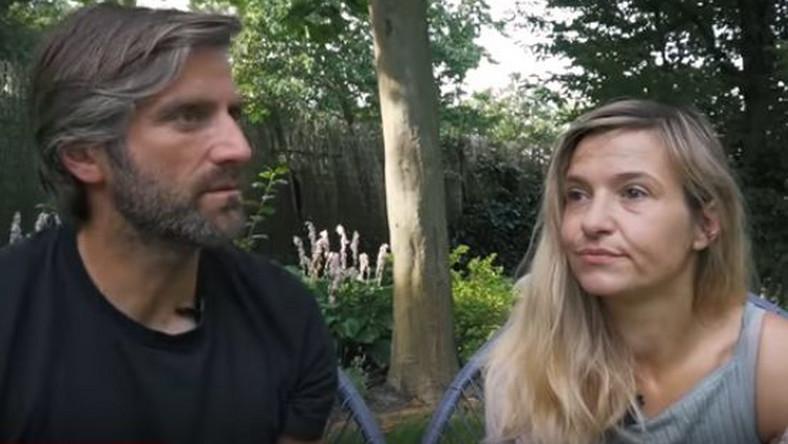 """Joanna Koroniewska i Maciej Dowbor / kadr z vloga """"Dowbory Be Happy"""""""