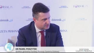 Paweł Poszytek: Możemy powoli zapominać o klasycznym modelu edukacji