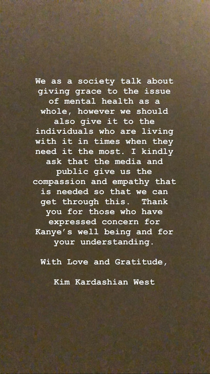 Kim Kardashian's post [Instagram/KimKardashian]