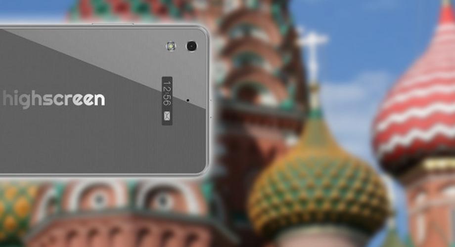 Highscreen ICE 2: Androide mit zusätzlichem Info-Display