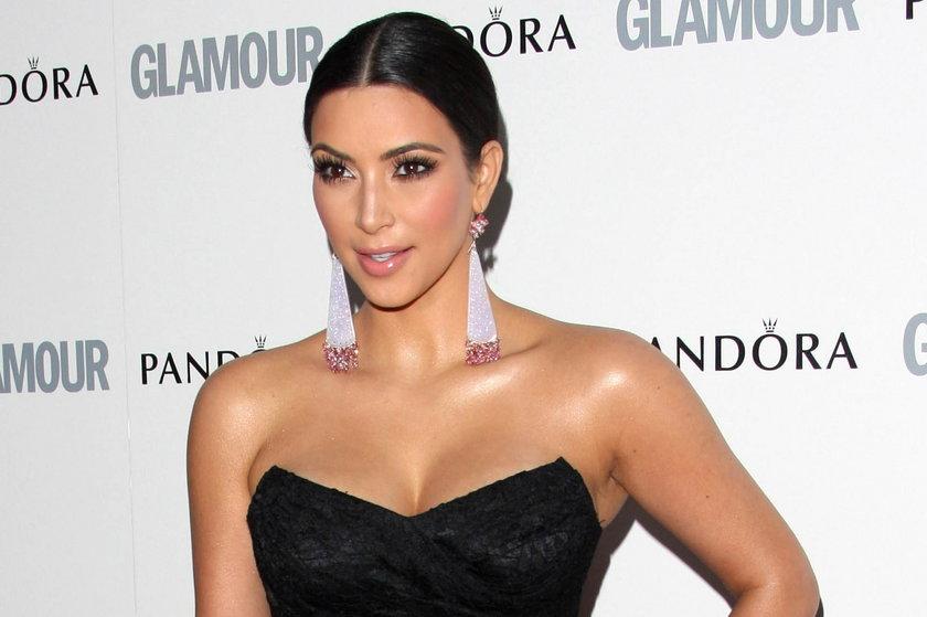 Kim Kardashian na ściance