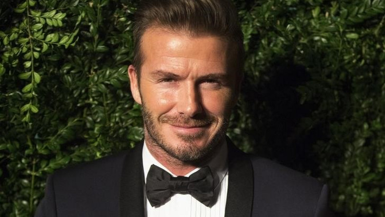 638e40a9c Former British soccer player David Beckham smiles at the Evening Standard  Theatre awards in London November