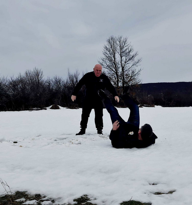 Dragan Marković Palma trenira na snegu
