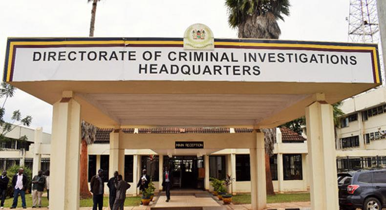 Entry to the Directorate of Criminal Investigations (DCI) headquarters