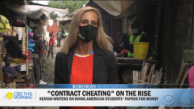 Kenyans react angrily to exam cheating exposé done by American TV station, CBS