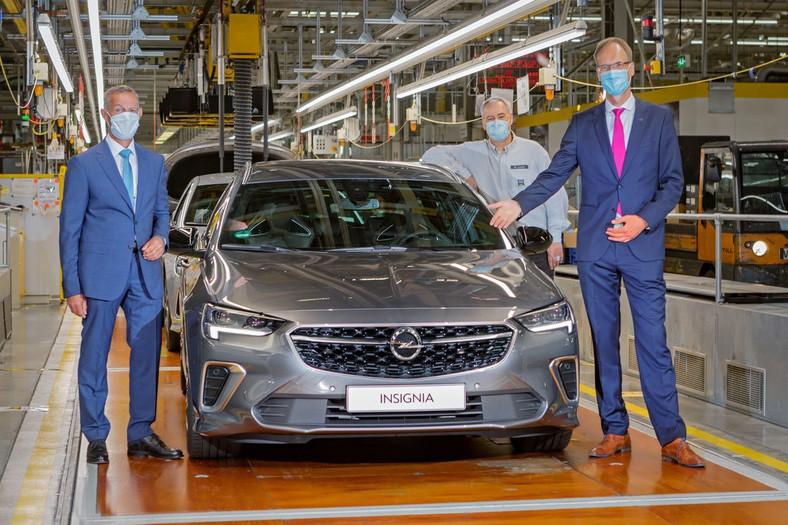 Opel Insignia Grand Sport już w produkcji