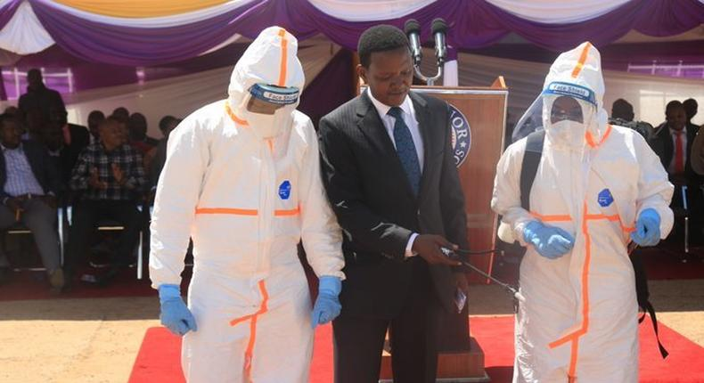 Governor Alfred Mutua gives update on quarentined Chinese nationals
