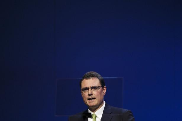 Thomas Jordan Szef Narodowego Banku Szwajcarii.