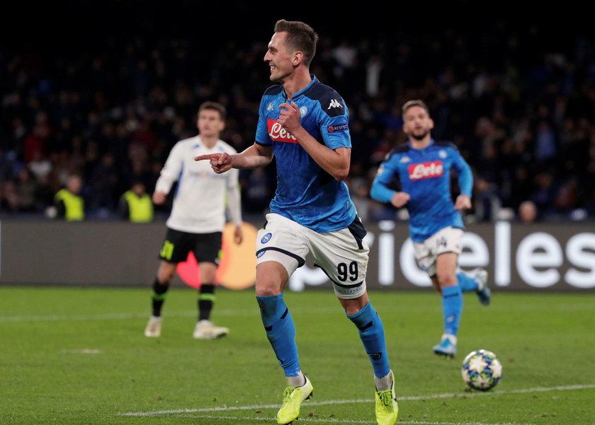 Wyczyn Milika nie był jednak tematem numer jeden w Neapolu, bo najważniejszą informacją była zmiana trenera.