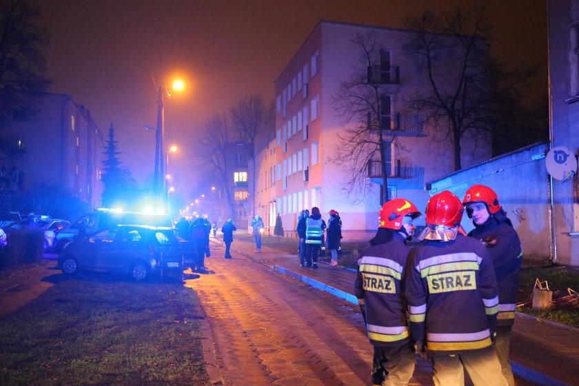 Policjant poszkodowany w wybuchu walczy o zdrowie