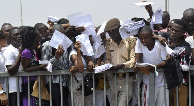Nigeria's unemployment rate hits 23.1% in 2018