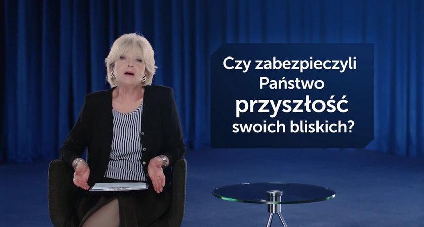 Stanisława Ryster w reklamie