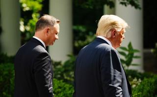 Republikanin w Białym Domu realnie wzmocnił obecność USA w Polsce