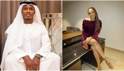 Odion Ighalo and his estranged wife Sonia [Instagram/JudeIghalo] [Instagram/Desuwa30]