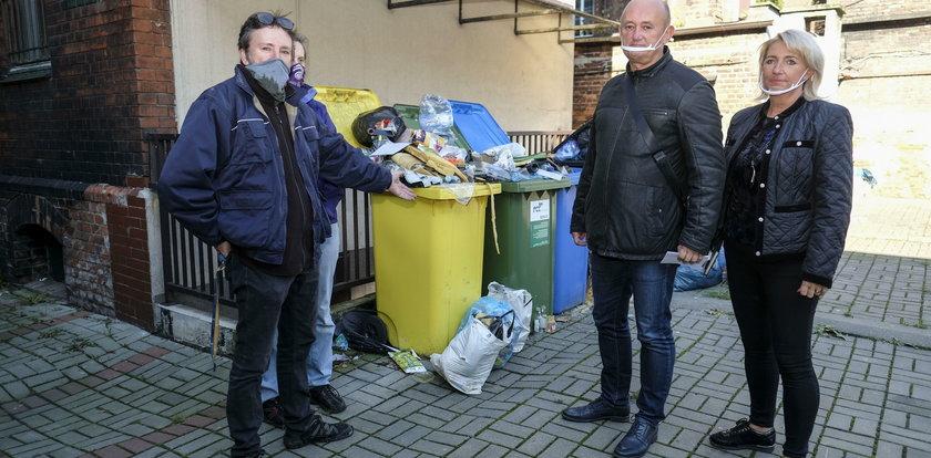 Zabrze tonie w śmieciach