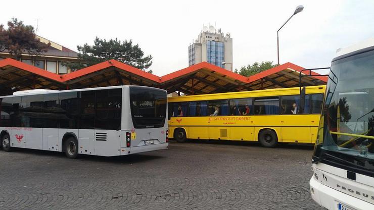 Glavna autobuska stanica u Pančevu