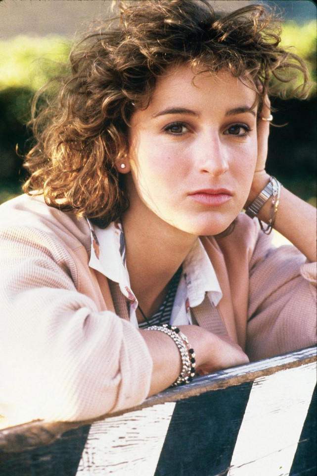 Jennifer Grey w 1986 roku