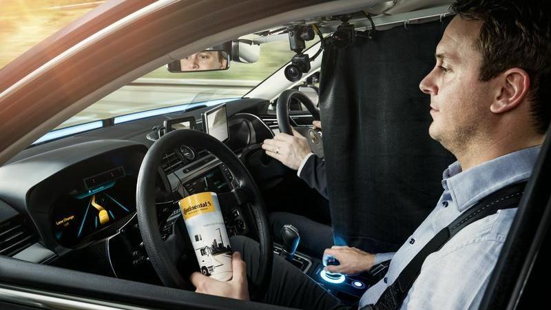 Obiekt badań - kierowca, który korzysta z automatyki Continental