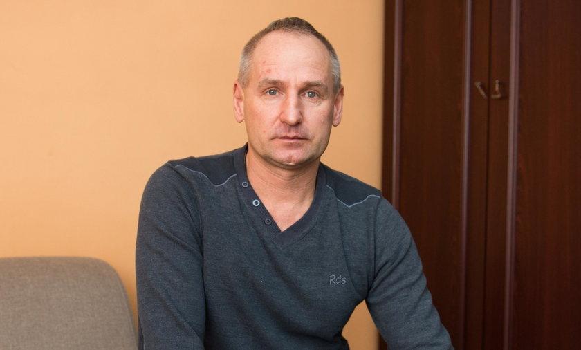 Krzysztof Płoszaj (51 l.), emerytowany górnik