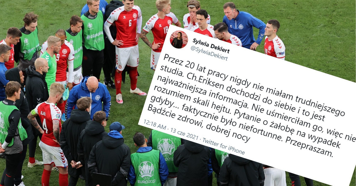 Euro 2020. Sylwia Dekiert skomentowała zajście w TVP Sport