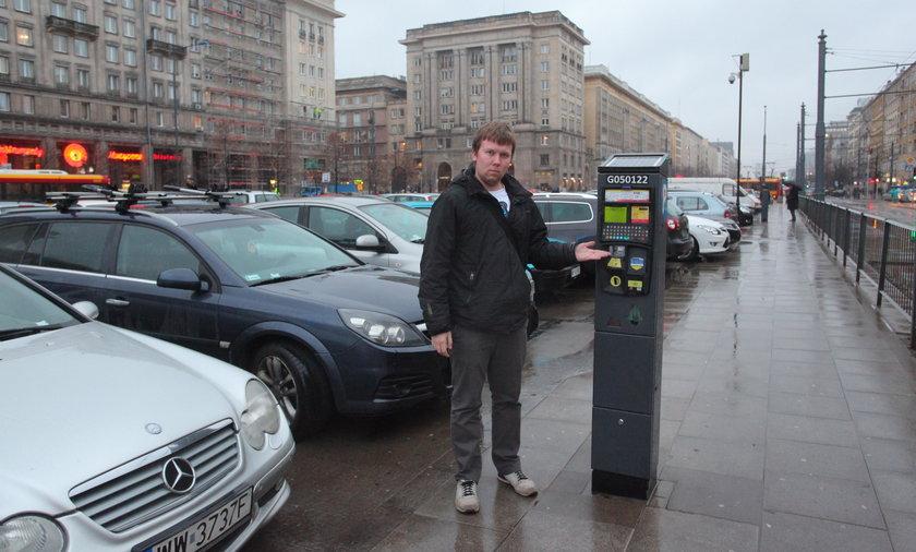 Parkomaty w Warszawie