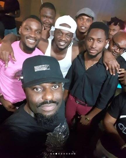 Celebrities who turned up for Paul Okoye's kids birthday party