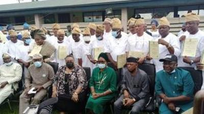 LASIEC issues Certificates of Return to 57 LG chairmen-elect, denies malpractices