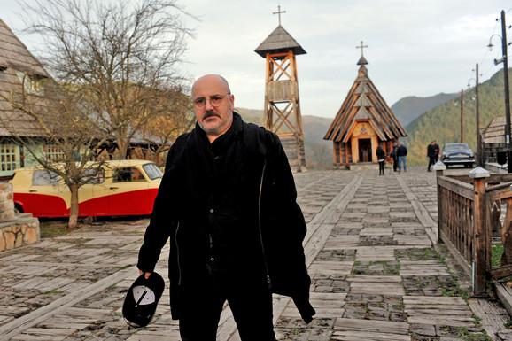 Kokan Mladenović u Drvengradu