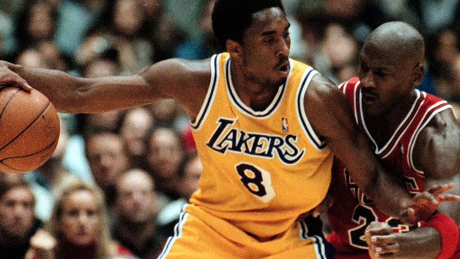 Kobe Bryant i Michael Jordan