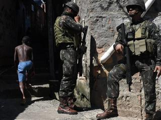 Military operation against drug traffickers in Rio de Janeiro
