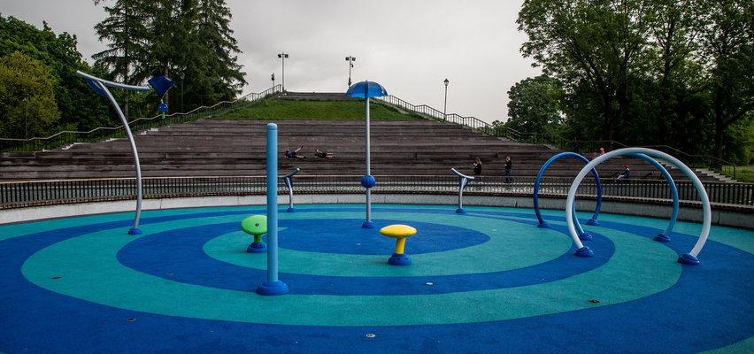 Wodny plac zabaw w Parku Jordana zaprasza!