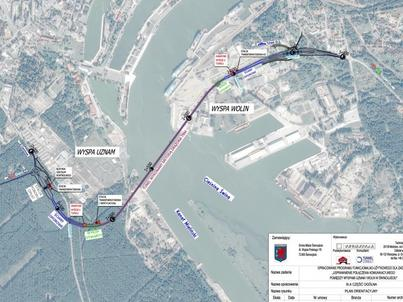 Sam tunel będzie mieć 1,44 km długości. Cała inwestycja - 3,4 km