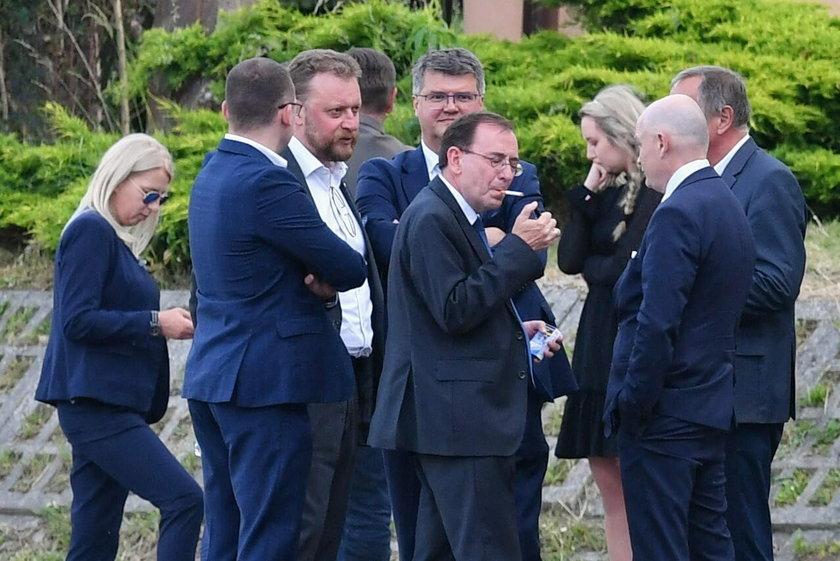 Politycy PiS zebrali się na wyjazdowym posiedzeniu