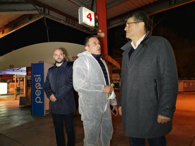 Gradonacelnik Nisš Darko Bulatović obišao autobusku stanicu da proveri kako se obavlja dezinfekcija