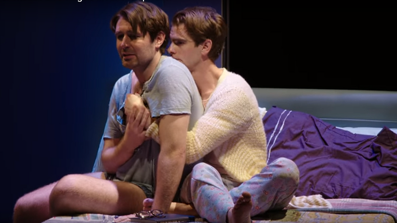 """""""Anioły w Ameryce"""" w wykonaniu National Theatre w Londynie"""